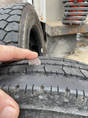 Goodyear 225/70r19.5 good truck tires for Sale in Mason City, IA