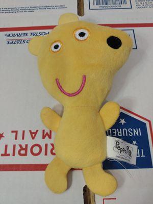 "Peppa Pig plush yellow teddy bear soft toy stuffed animal doll 7"" for Sale in San Jacinto, CA"