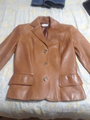 Michael Kors leather jacket for Sale in Waukegan, IL