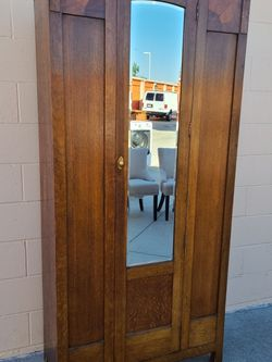 Vintage Modern Art Deco Armoire Wardrobe Closet for Sale in Huntington Beach,  CA