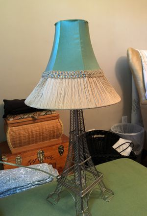 EIFFEL TOWER LAMP With shade for Sale in Los Angeles, CA