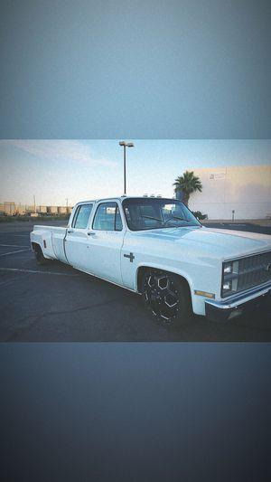 1982 Chevy c30 dually 22s for Sale in Phoenix, AZ