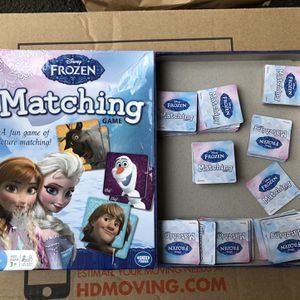 Frozen Matching Game for Sale in Salem, OR
