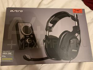 Astro A40 Wired Gaming Headset + Mix Amp Pro for Sale in Winter Haven, FL