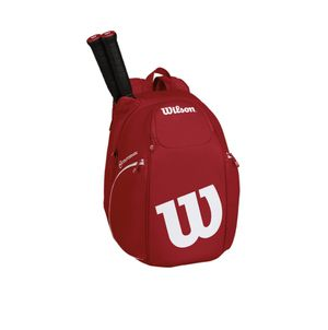 Red Two Tone Canvas Wilson Pro Staff Countervail Backpack LIKE NEW Holds 2 tennis rackets, Thermoguard pocket on side for water bottle & has shoe poc for Sale in Gilbert, AZ