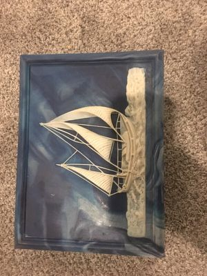 Blue Marble sailboat box ⛵️ for Sale in Quincy, MA