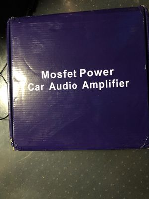 3800W-Mosfet Power Amp for Sale in Gilbert, AZ