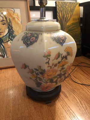 1960's Glass Antique Lamp for Sale in Schnecksville, PA