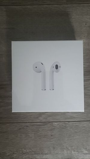 2nd Generation Apple airpods with wireless charging case for Sale in Hawthorne, CA