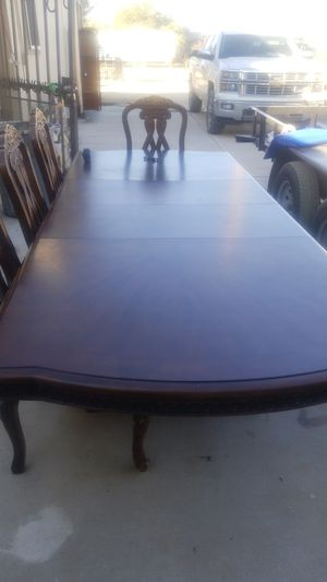 Wooden Dining Table (USED CONDITION) 4 Wooden Chairs sold for Sale in Buckeye, AZ