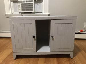 Beautiful Light Gray Wooden Dresser, TV Stand for Sale in Somerville, MA