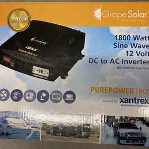 Grape Solar 1800 Watt Inverter for Sale in Houston, TX