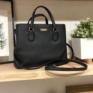 Black Kate Spade Purse, Saffiano Leather Shoulder Bag $150 OBO for Sale in Phoenix, AZ