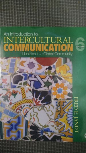 An Introduction to Intercultural Communication: Identities in a Global Community for Sale in DEVORE HGHTS, CA