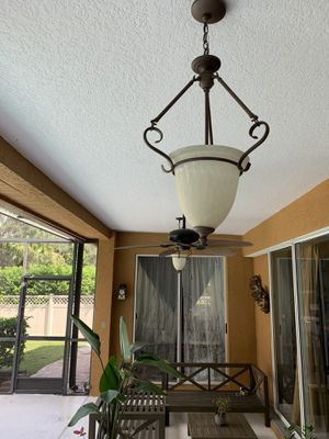 Patio light fixture for Sale in Casselberry, FL