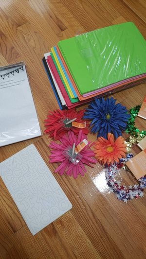 New & Unused arts/craft supplies for Sale in Boston, MA
