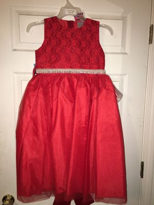 Red pearled dress for Sale in Las Vegas, NV