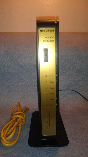 Netgear Wireless cable Data modem/router C6300BD for Sale in Phoenix, AZ