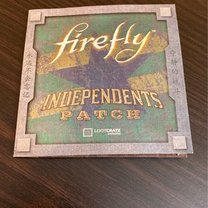 Firefly Independents Patch for Sale in Front Royal, VA