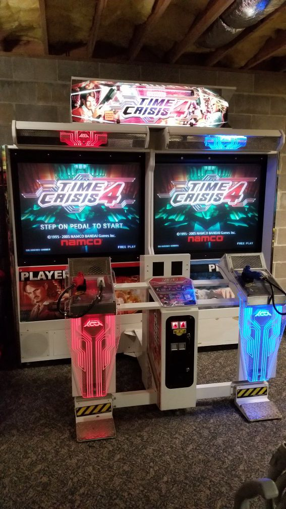 Time Crisis 4 Deluxe Arcade Machine for Sale in Clayton ...