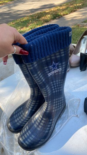 Dallas Cowboys rain boots for Sale in Dallas, TX