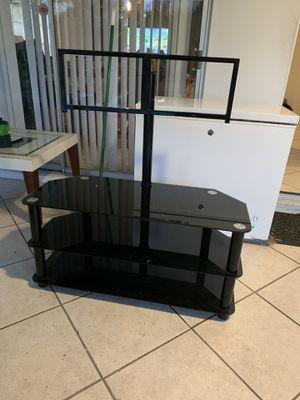 TV stand / glass 55' for Sale in Tamarac, FL