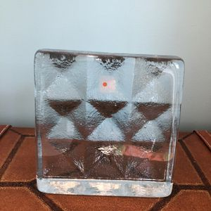 Vintage Blenko Art Glass Bookend Sculpture Paperweight for Sale in Hurricane, WV