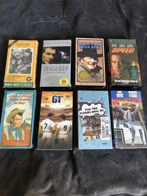 VHS Movies for Sale in Fresno, CA