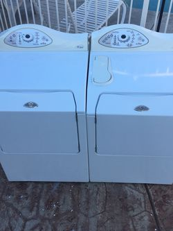 Washer And (Gas) Dryer Set for Sale in Fresno,  CA