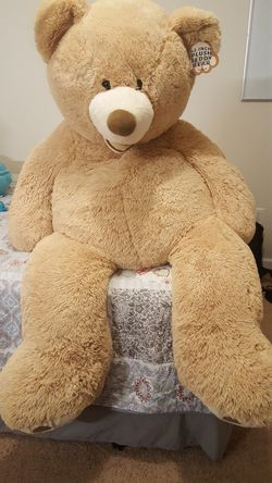 "53"" Teddy bear - Costco Product for Sale in Dunlap,  IL"