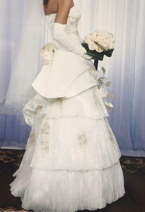 Custom wedding dress for Sale in Ellenton, FL