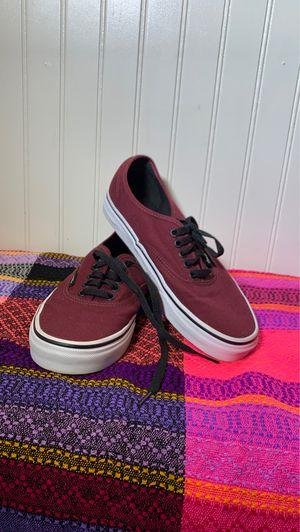 "Vans ""ERA"" maroon shoes for Sale in Bakersfield, CA"
