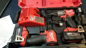 Milwaukee 18v drill set for Sale in Orlando, FL