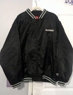 Vintage Oakland Raiders Bomber Jacket for Sale in Redwood City, CA