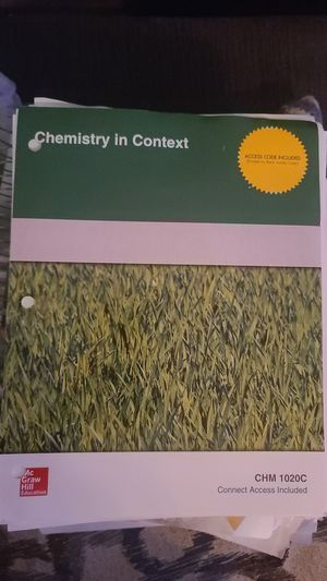 Chemistry in Contex McGraw Hill Textbook for Sale in Tampa, FL