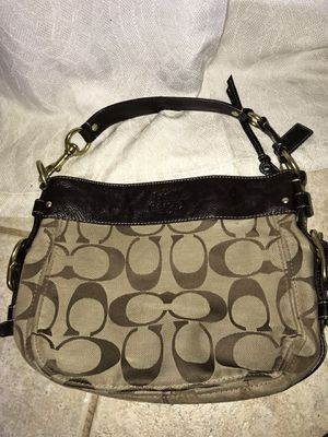 Coach Original E0868-12657 Brown Leather Handles Hobo Bag for Sale in Mesquite, TX