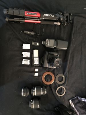 Canon T3i with Gear and Lenses for Sale in Adams, MA