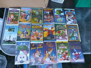 VHS $1 EACH for Sale in Davenport, FL