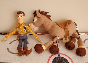 Talking Woody & Bullseye - Toy Story for Sale in Murfreesboro, TN