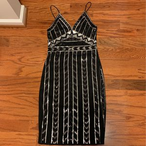 Black Sequined Cocktail Dress for Sale in Baltimore, MD