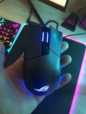 Asus Origin 2 Gaming mouse and cord bungie. for Sale in Newington, CT