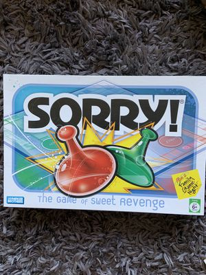 Sorry board game for Sale in La Mesa, CA