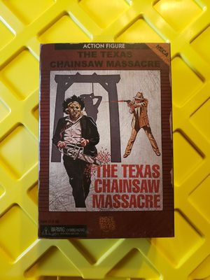 Neca, reel toys, Texas Chainsaw Massacre action figure for Sale in Crystal City, MO