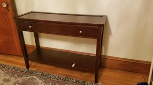 Wooden console table for Sale in Winter Hill, MA