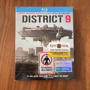 District 9 - BluRay DVD for Sale in Arlington, VA