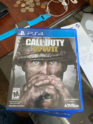 Call Of Duty WW2 PS4 FREE DELIVERY for Sale in San Diego, CA