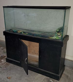 Pending pickup - Fish tank with stand for Sale in Wake Forest, NC