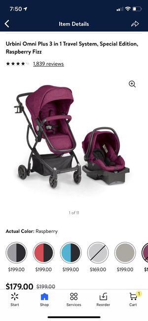 Urbini Omni Plus 3-in-1 car seat & stroller for Sale in Tampa, FL