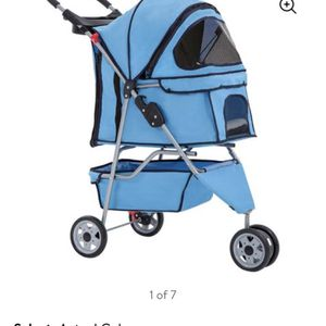 Baby Blue Dog/cat Stroller. for Sale in Boulder City, NV
