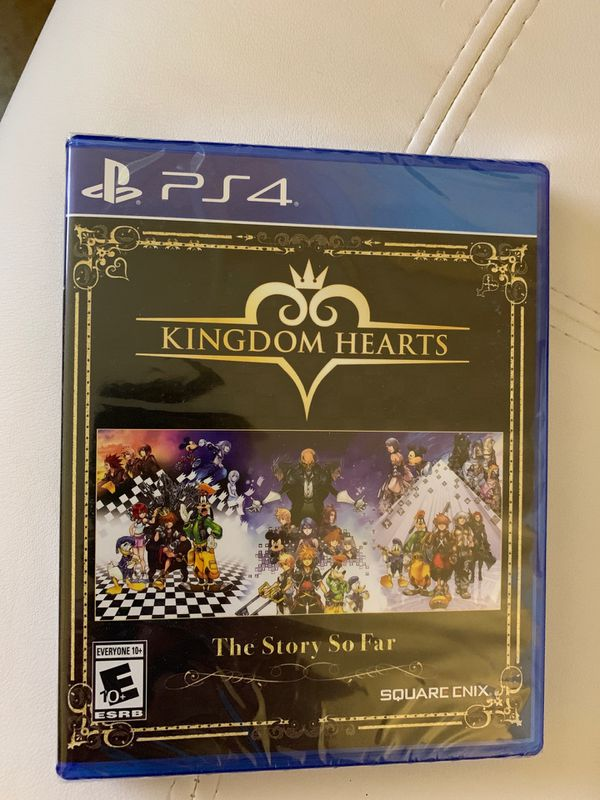 Kingdom hearts story so far sealed